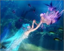 mermaid luka & miku