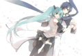 miku & kaito - vocaloid-characters-%E2%99%AB photo