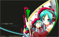 miku with hachune - vocaloid-characters-%E2%99%AB photo