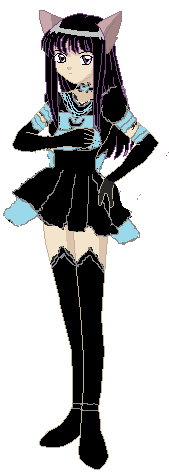 my oc:reiko in her eternal sailor universe form