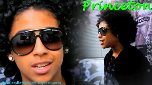 Princeton (Mindless Behavior) fond d'écran containing sunglasses titled princeton