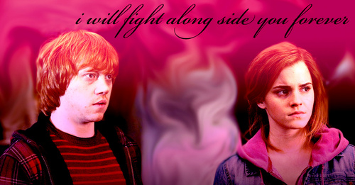 romione wallpaper containing a portrait titled r and h