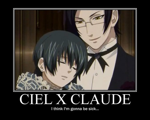 yaoi of black butler