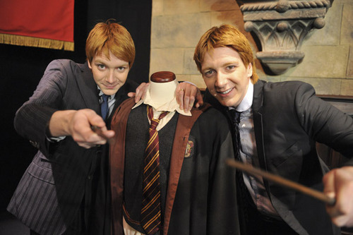 Fred and George Weasley wallpaper titled ♥ Fred and George ♥