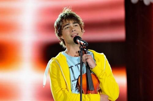 Alexander Rybak wallpaper possibly with a concert and a guitarist called [: