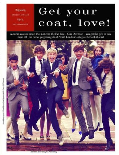 1D = Heartthrobs (Enternal 爱情 4 1D & Always Will) Collegiate School North London! 100% Real ♥