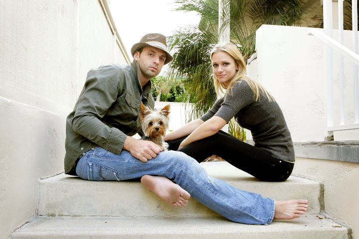 A.J. Cook with friendly, Husband Nathan Anderson