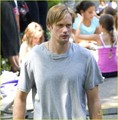 Alexander Skarsgard: 'Maisie' in Central Park!