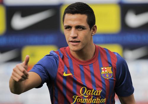 Alexis Sanchez Presentation as FC Barcelona player