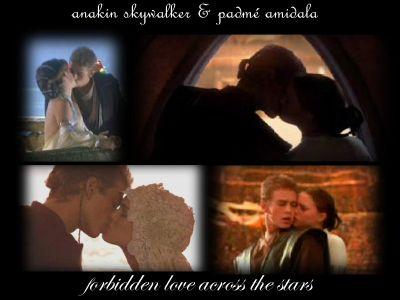 Anakin and Padme দেওয়ালপত্র