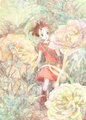 Arrietty - karigurashi-no-arrietty fan art