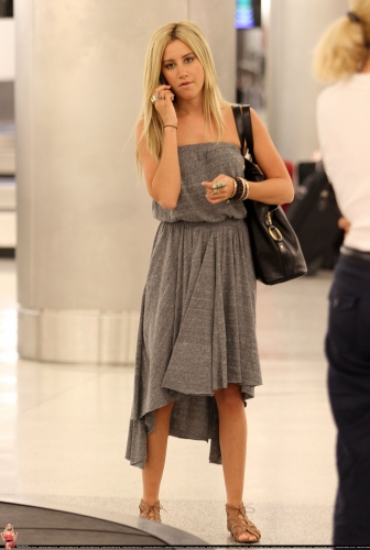 Ashley Arriving in Miami