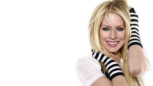 Avril Lavigne wallpaper probably with tights, a stocking, and a legging entitled Avril Lavigne