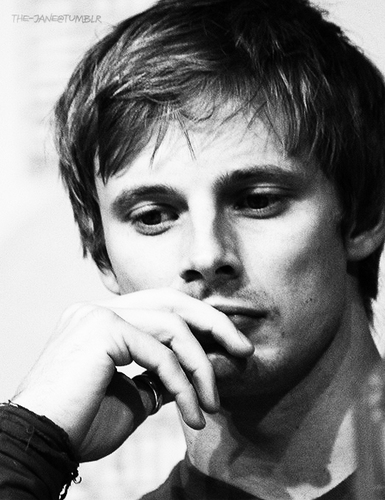 Beautiful Black and White of Bradley