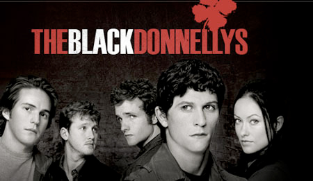 The Black Donnellys wallpaper possibly with anime titled Black Donnellys Poster