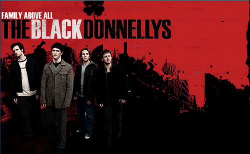 The Black Donnellys wallpaper possibly containing a business suit and anime titled Black Donnellys Poster