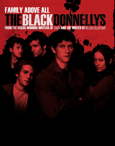 The Black Donnellys wallpaper containing anime titled Black Donnellys Poster