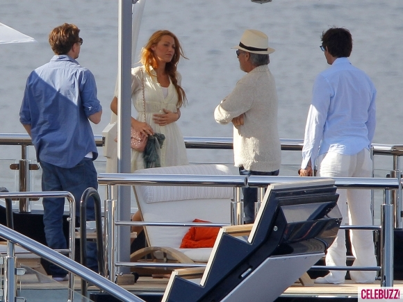 Leonardo Dicaprio And Blake Lively Images Blake And Leo On A Boat