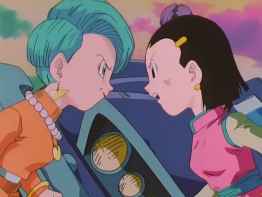 Bulma Briefs Images Bulma And Chi Chi Arguing Wallpaper And Background Photos