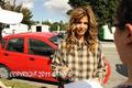 Charisma Carpenter On The Set Of Supernatural - charisma-carpenter photo