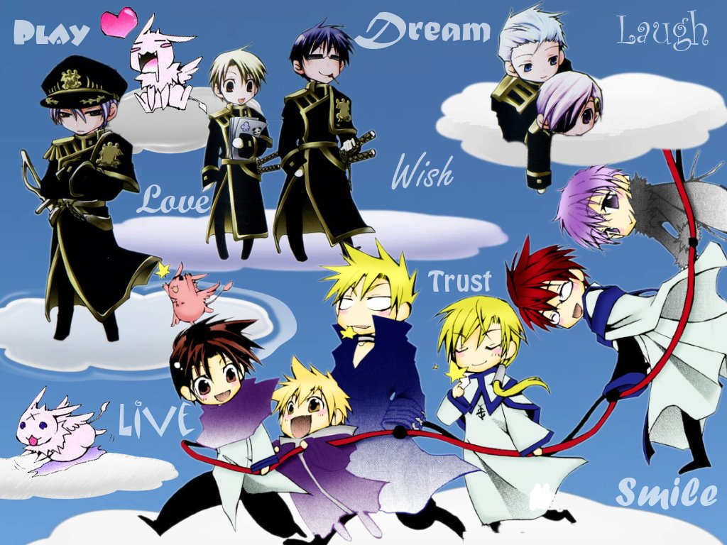 7 Ghost Anime Characters : Chibi ghost characters ^o^v wallpaper