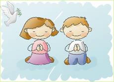 Children are praying for God