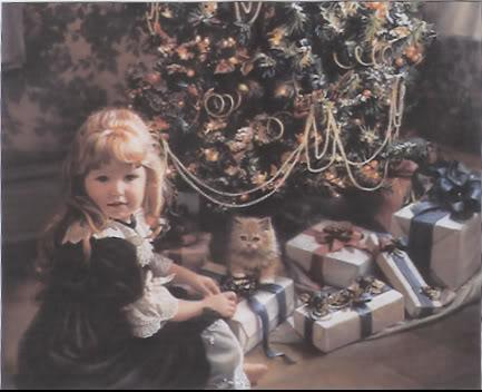 क्रिस्मस girl