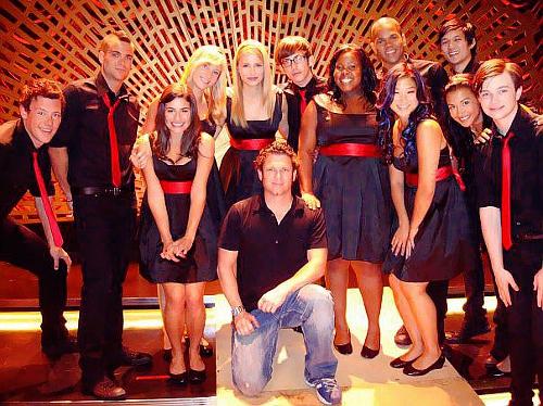 Cory, Chris and the স্বতস্ফূর্ত cast:)
