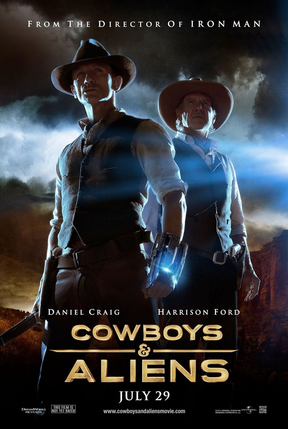 cowboys aliens full movie