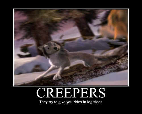 Creepers in Log Sleds