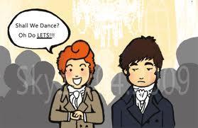 Darcy and Bingley Dance