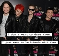 Date dem - my-chemical-romance fan art