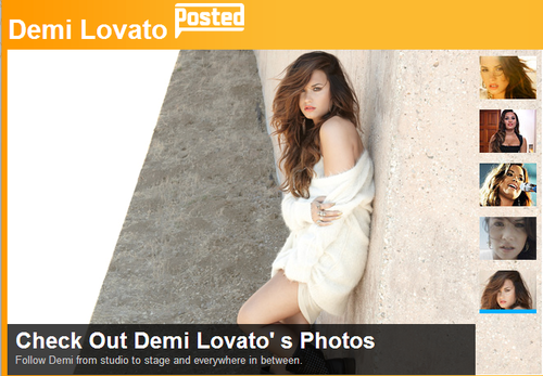 Demi Lovato as VH1's পোষ্ট হয়েছে artist for September! STAY TUNE on vh1.com
