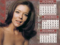 Diana - October thru December 2011(calendar) - diana-rigg wallpaper