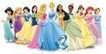 Disney Princess Lineup with Wendy