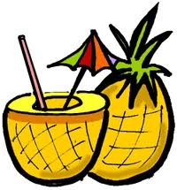 Drawn Drink Pineapple