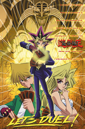 Yami Yugi fond d'écran containing animé entitled Duel!