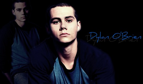 Dylan O'Brien karatasi la kupamba ukuta probably containing a portrait titled Dylan O'brien