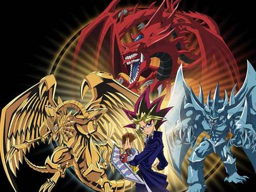 Egyptian Gods - yu-gi-oh Photo