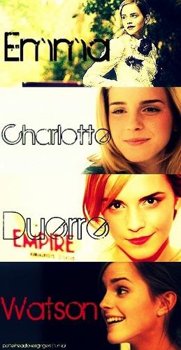 Emma шарлотка, шарлотта Duerre Watson.♥
