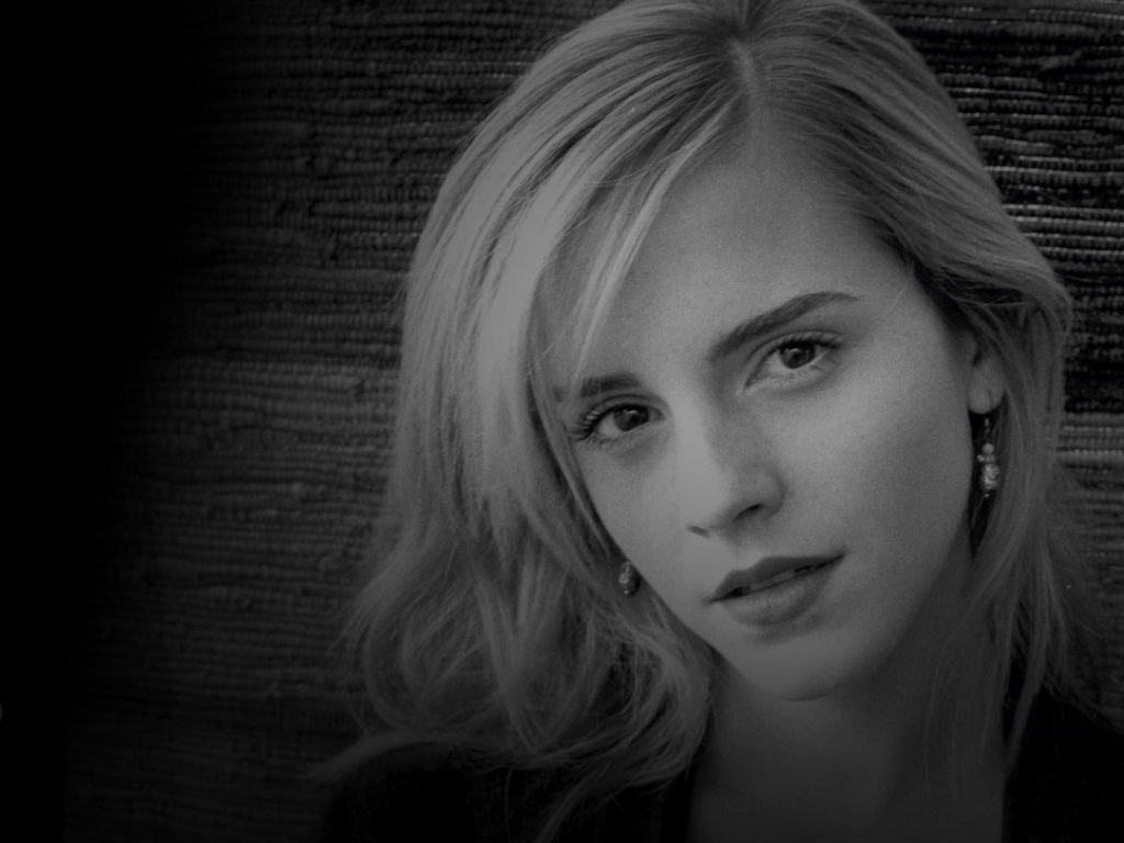 Emma Watson Emma Watson WallpaperEmma Watson Wallpaper Black And White