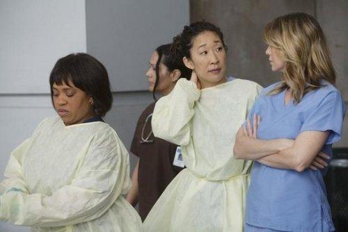 Grey's Anatomy wallpaper entitled Episode 8.01 - Free Falling - Promo Photos