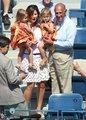Federer blond twins