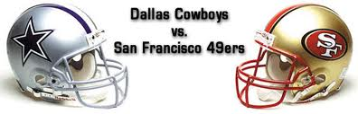 For Sunday, 09/18, Week 2. Dallas Cowboy vs San Francisco 49ers!