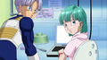 Future Trunks and Bulma - bulma-briefs screencap
