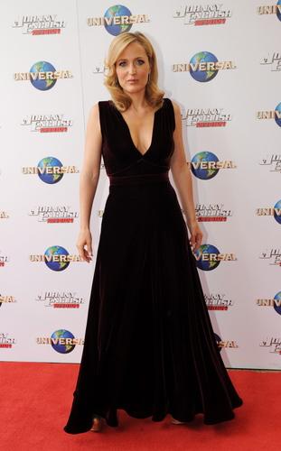 Gillian anderson 'J.E. 2 premiere Sydney'