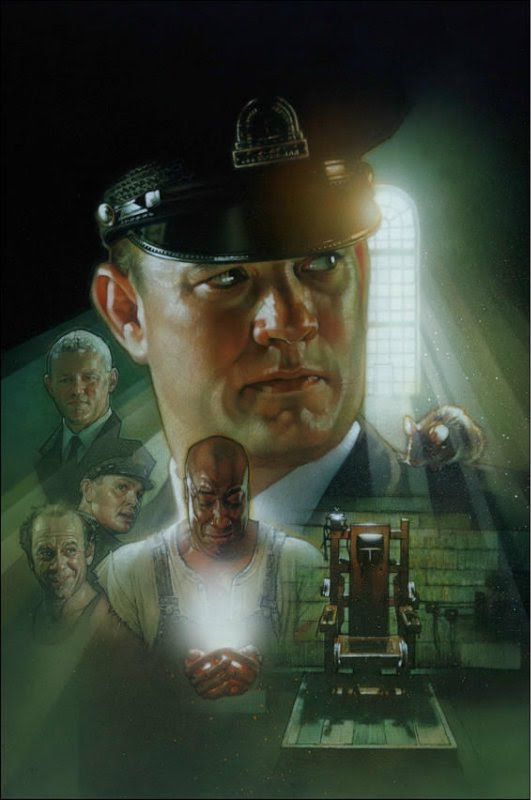 Green mile poster