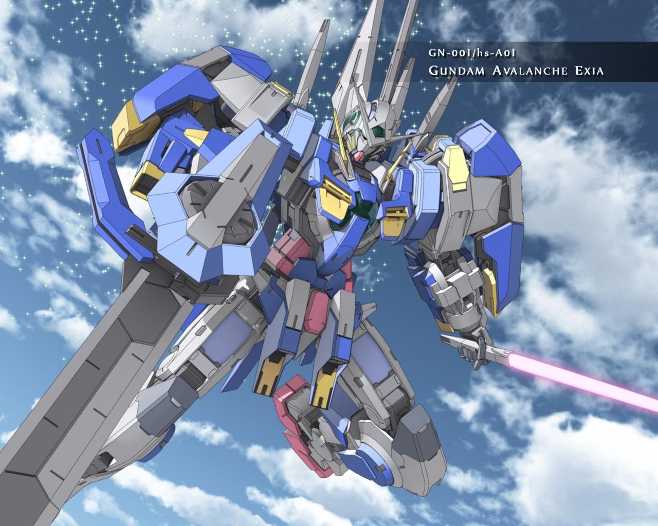 Gundam Imagens Gundam Avalanche Exia Hd Wallpaper And Background