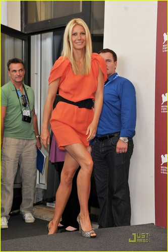 Gwyneth Paltrow: 'Contagion' fotografia Call in Venice!