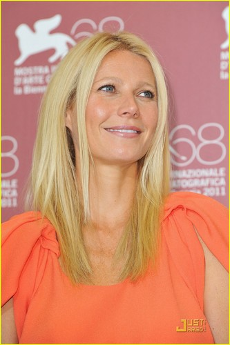 Gwyneth Paltrow: 'Contagion' foto Call in Venice!